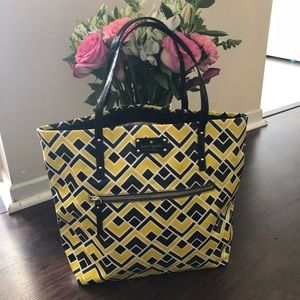 Kate Spade Flicker Fabric Tote